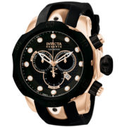 Invicta® Mens Reserve Venom 18K Rose-Gold Watch
