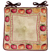 Apple Tapestry Indoor/Outdoor Chair Cushion