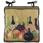 Wine Classics Tapestry In/Outdoor Chair Cushion