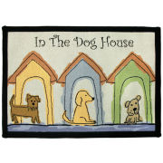 Dog House Pet Rug