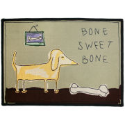Bone Sweet Bone Pet Rug