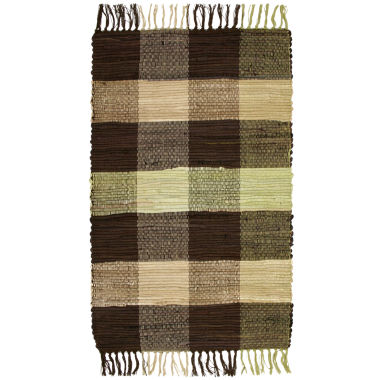 jcpenney.com | Agra Plaid Washable Cotton Rectangular Rug