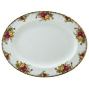 "Royal Albert® Old Country Roses 13"" Oval Serving Platter"