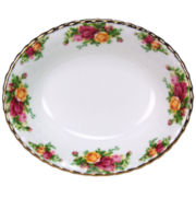 Oval Vegetable Bowl, Old Country Roses