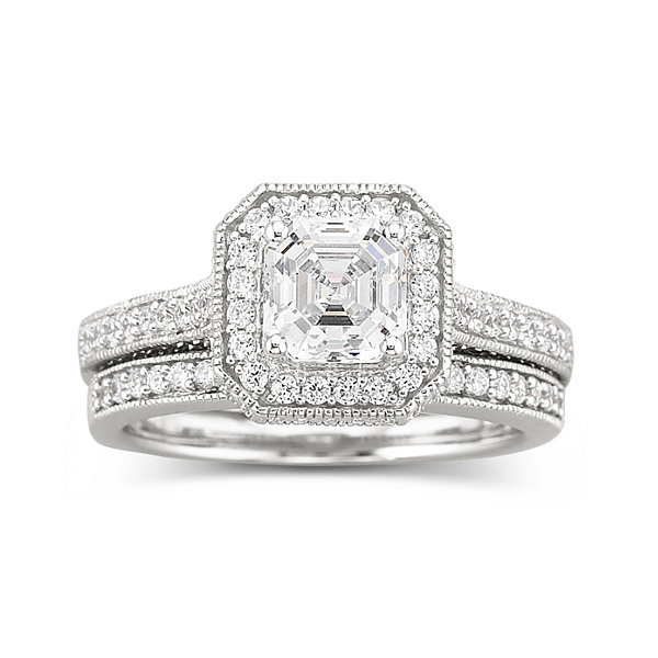 Jcpenney Gift Registry Wedding: DiamonArt® Sterling Silver 1 7/8 CT. T.W. Cubic Zirconia
