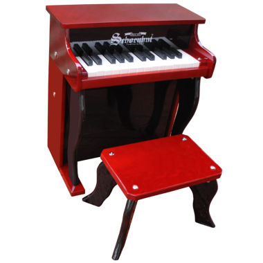 jcpenney.com | Schoenhut® Mahogany Elite 25-Key Spinet Kids Piano