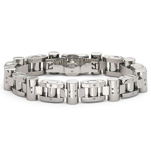 Men's Stainless Steel Heavy Link Bracelet