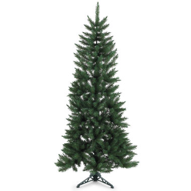 jcpenney.com | 6.5' Spruce Half-Tree Christmas Tree