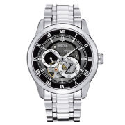 Bulova Mens Silver-Tone Watch