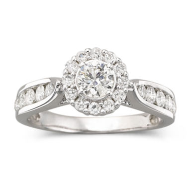 jcpenney.com | 1 CT. T.W. Diamond Engagement Ring