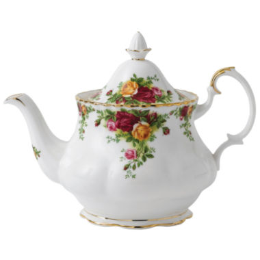 jcpenney.com | Royal Albert® Old Country Roses Teapot