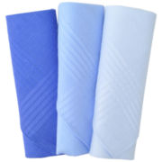 Stafford® 3 Piece Solid Handkerchief Set