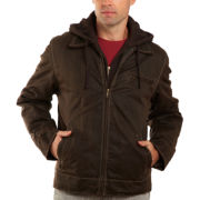 Detachable-Hood Jacket