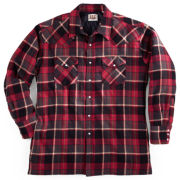 Ely Cattleman Quilted Flannel Shirt Jacket