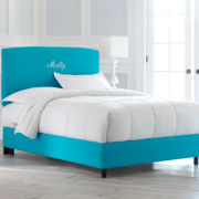 Headboard or Bed, Molly Monogrammed Bed