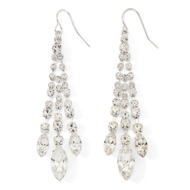jcpenney.com | Vieste® Rhinestone Chandelier Earrings