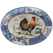 Lille Rooster Serving Platter