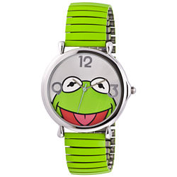 Muppets Kermit Green Expansion Band Watch