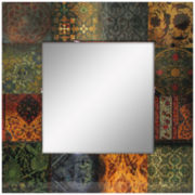 Baroque Square Wall Mirror