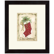 I Love Christmas Wall Print
