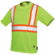 Work King High-Visibility Traffic T-Shirt-Big & Tall