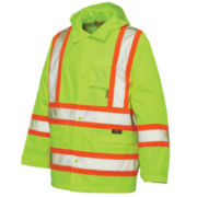 Work King High-Visibility Rain Jacket – Big & Tall