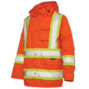 Work King High-Visibility Rain Jacket - Big Outwear