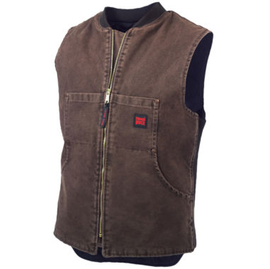 jcpenney.com | Tough Duck™ Quilted Workwear Vest–Big & Tall
