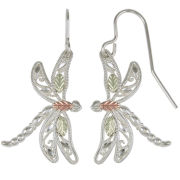 Black Hills Gold® Dragonfly Earrings