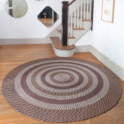 Cambridge Reversible Braided Round Rug