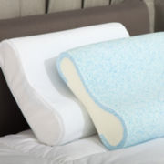 Blueflex Gel Memory Foam Contour Pillow