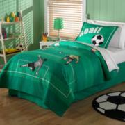 Soccer Quilt Set