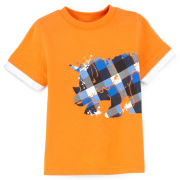 Okie Dokie® Graphic Layered Tee - Boys 2t-5t