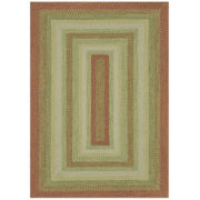 Canyon Reversible Braided Indoor/Outdoor Rectangular Rugs