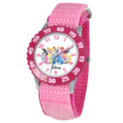 Time Teacher Disney Princesses Kids Pink Watch