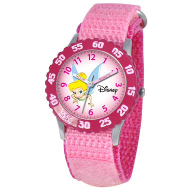 jcpenney.com | Disney Time Teacher Tinker Bell Kids Pink Watch