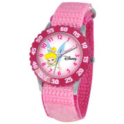 Disney Time Teacher Tinker Bell Kids Pink Watch