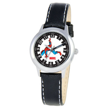 jcpenney.com | Marvel Spider-Man Time Teacher Kids Black Watch