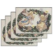 Table Linens, Angel Wreath