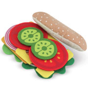 Melissa & Doug® Felt Play Food Sandwich Set
