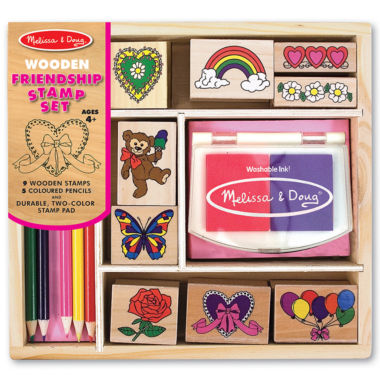 jcpenney.com | Melissa & Doug® Friendship Ink Stamp Set