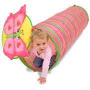 Melissa & Doug® Bella Butterfly Kids Play Tunnel