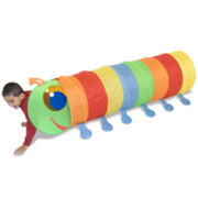 Melissa & Doug® Happy Giddy Kids Play Tunnel