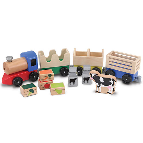 Melissa & Doug® Wood Train Set