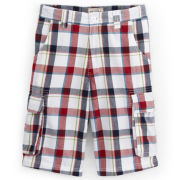 Arizona Plaid Cargo Shorts - Boys 8-20