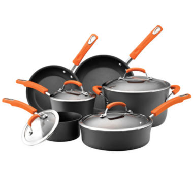 jcpenney.com | Rachael Ray® 10-pc. Hard-Anodized Cookware Set