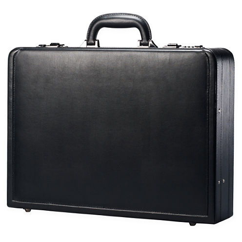 Samsonite® Bonded Leather Attache Business Case