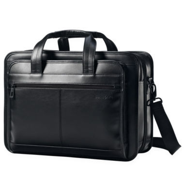 jcpenney.com | Samsonite® Leather Expandable Business Case