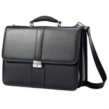 jcpenney.com | Samsonite® Leather Front Flap Business Case