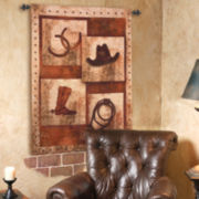Saddle Up Hanging Wall Tapestry